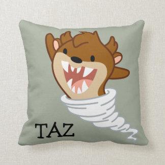 Chibi Tornado TAZ™ Throw Pillow