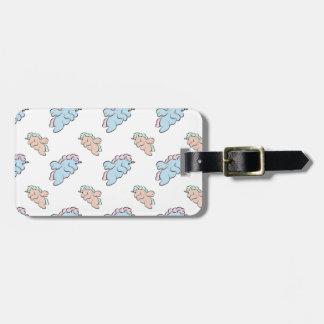 Chibi Unicorn Luggage Tag