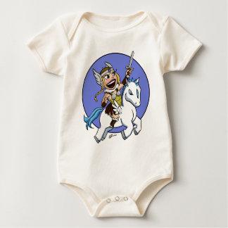 chibi valkyrie baby bodysuit