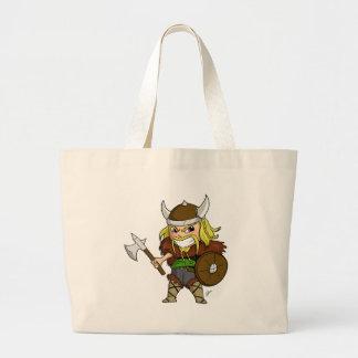 Chibi Viking Jumbo Tote Bag