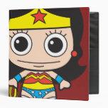 Chibi Wonder Woman Binders