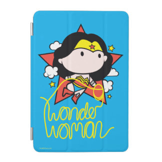 Chibi Wonder Woman Flying With Lasso iPad Mini Cover