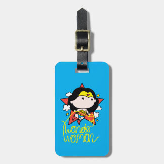 Chibi Wonder Woman Flying With Lasso Luggage Tag