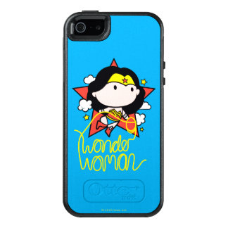 Chibi Wonder Woman Flying With Lasso OtterBox iPhone 5/5s/SE Case