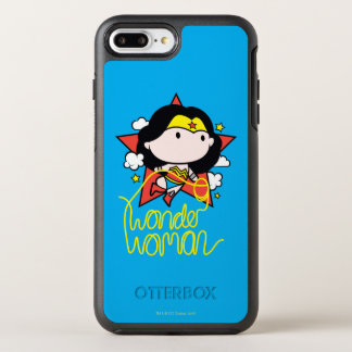 Chibi Wonder Woman Flying With Lasso OtterBox Symmetry iPhone 7 Plus Case