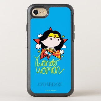 Chibi Wonder Woman Flying With Lasso OtterBox Symmetry iPhone 8/7 Case