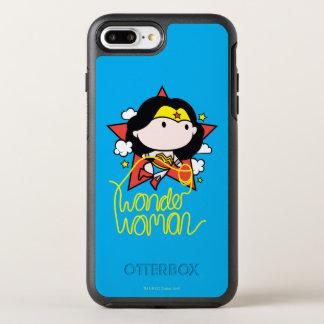 Chibi Wonder Woman Flying With Lasso OtterBox Symmetry iPhone 8 Plus/7 Plus Case