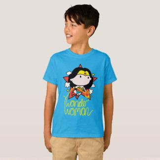 Chibi Wonder Woman Flying With Lasso T-Shirt