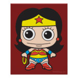 Chibi Wonder Woman Poster