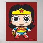 Chibi Wonder Woman Poster