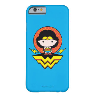 Chibi Wonder Woman With Polka Dots and Logo Barely There iPhone 6 Case