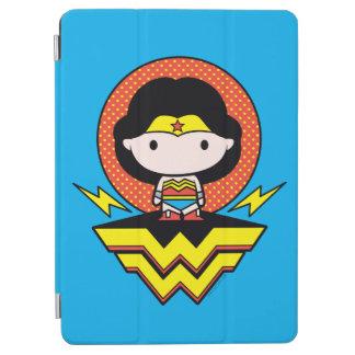 Chibi Wonder Woman With Polka Dots and Logo iPad Air Cover