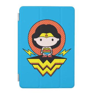 Chibi Wonder Woman With Polka Dots and Logo iPad Mini Cover