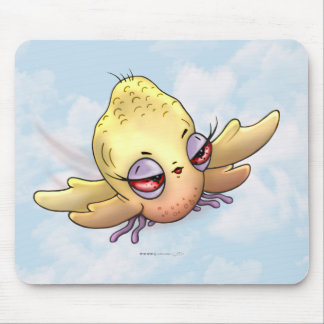 CHIBITTI BIRD ALIEN MONSTER CARTOON MOUSE PAD