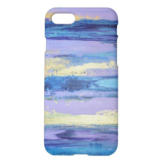 Chic Abstract Phone Case- Lilac and Gold iPhone 8/7 Case