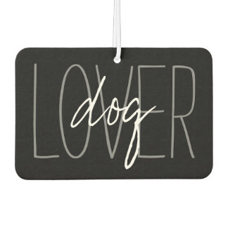 CHIC AIR FRESHENER_DOG LOVER, BLACK/WHITE/GRAY AIR FRESHENER