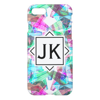 Chic and Modern Bohemian Monogram iPhone 8/7 Case