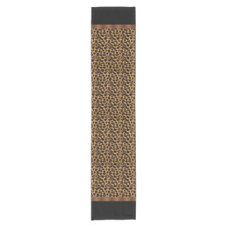 Chic Animal Leopard Print Short Table Runner