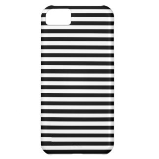 Chic Black White. Elegant Striped iPhone5/5C/5S iPhone 5C Cases