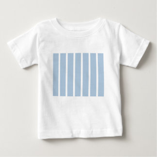Chic Blue and White Stripes! Baby T-Shirt