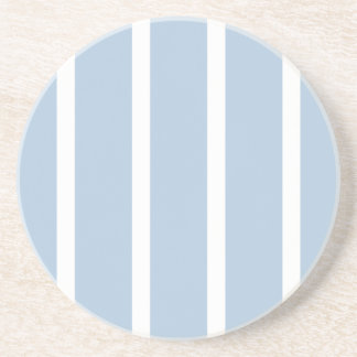 Chic Blue and White Stripes! Coaster