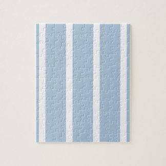 Chic Blue and White Stripes! Jigsaw Puzzle