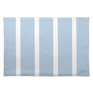 Chic Blue and White Stripes! Placemat