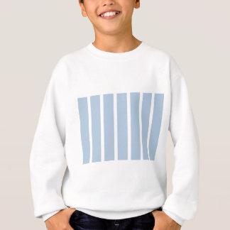 Chic Blue and White Stripes! Sweatshirt