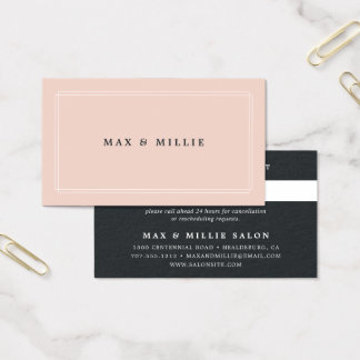 Chic Blush | Appointment Business Card