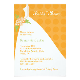Chic Bridal Shower Invitation