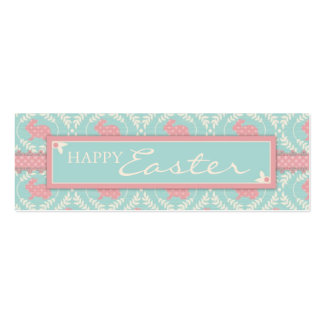 Chic Bunny Skinny Gift Tag Business Cards