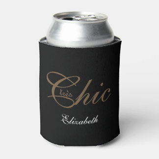 "CHIC CAN COOLER_""tres Chic"" Can Cooler"