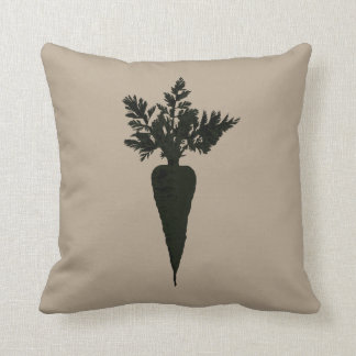 Chic Carrot Color Block | Accent Pillow