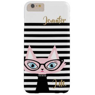 Chic Cat Monogram iPhone 6/6S Plus Case