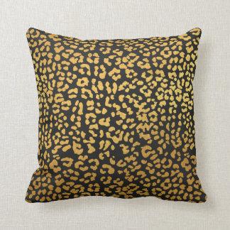 Chic Cheetah Print Throw Pillow
