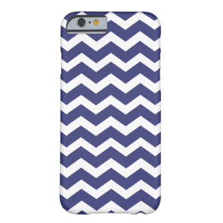 Chic Chevron iPhone 6 case Navy and White