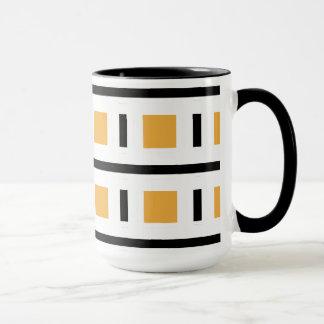 CHIC COFFEE MUG_MOD /WHITE/BLACKGOLD MUG