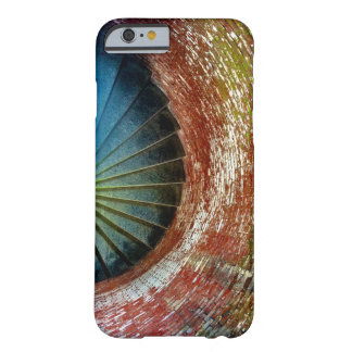 Chic Colorful Abstract Circle Staircase Photo Barely There iPhone 6 Case