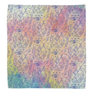 Chic colorful Bohemian Pattern Bandana