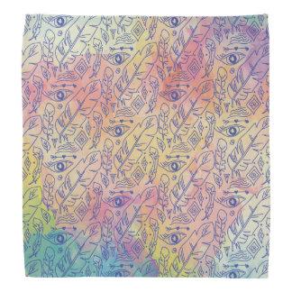 Chic colorful Bohemian Pattern Bandana