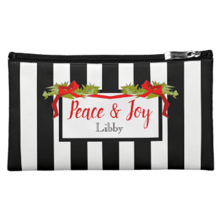 .CHIC COSMETIC BAG_PEACE AND JOY COSMETIC BAG