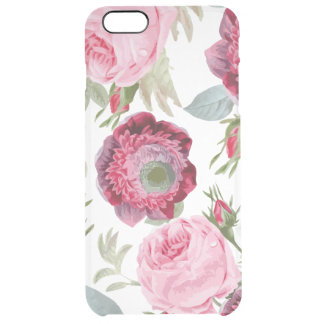 Chic Country Signature Floral Clear iPhone 6 Plus Case
