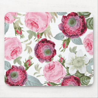 Chic Country Signature Floral Mouse Pad