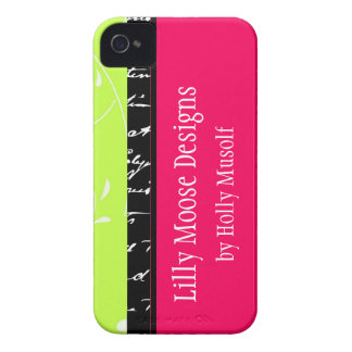 Chic Cute Fun Pink Green Black Blackberry Case