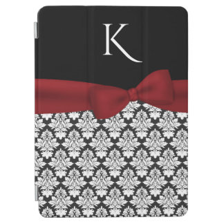 Chic Damask Monogrammed iPad Air Smart Cover