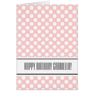 Chic Dots Card