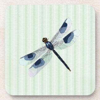 Chic Dragonfly Cork Back Coaster