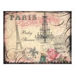 Chic Eiffel Tower & Chandelier Baby Shower