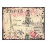 Chic Eiffel Tower & Chandelier Bridal Shower