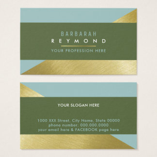 chic & elegant design for a stylish professional business card